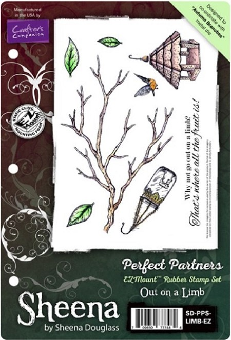 Crafter's Companion - Sheena Perfect Partners EZMount Stamp Set - Out On A Limb