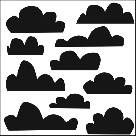 The Crafters Workshop-12x12 Template-Clouds