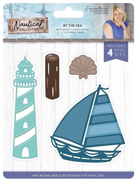Crafter's Companion - Nautical Collection by Sara Davies - By the Sea Die