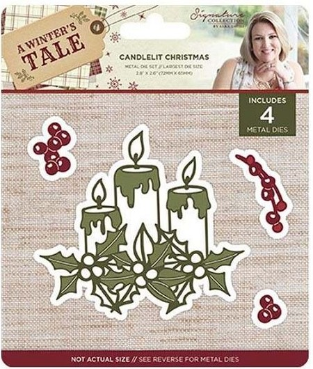Crafter's Companion - A Winter's Tale Collection by Sara Davies - Candlelit Christmas Die