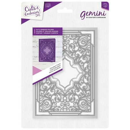 Crafter's Companion - Gemini Collection - Decadent Frame Cut & Emboss Folder