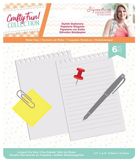 Crafter's Companion - Crafty Fun! Collection by Sara Davies - Stylish Stationery Die