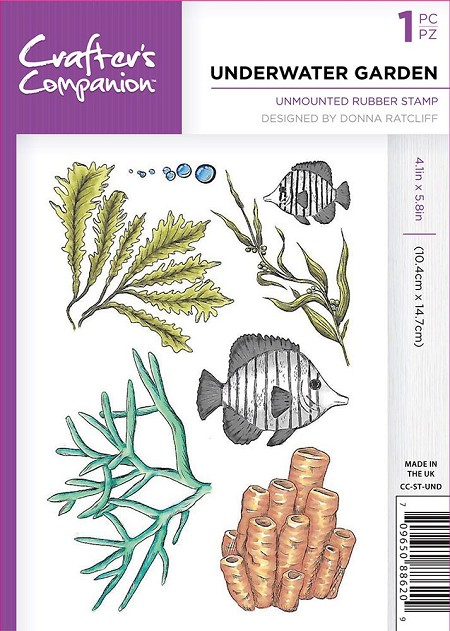 Crafter's Companion - Underwater Garden Clear Stamps