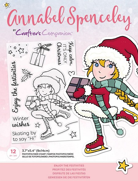 Crafter's Companion - Enjoy The Festivities Annabel Spenceley Clear Stamps