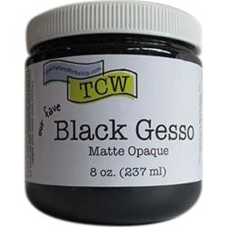 The Crafter's Workshop - Black Gesso 8 oz.