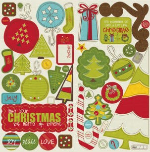 Crate Paper-North Pole-Chipboard Accents