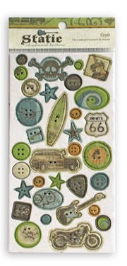 Crate Paper-Static-Chipboard Buttons