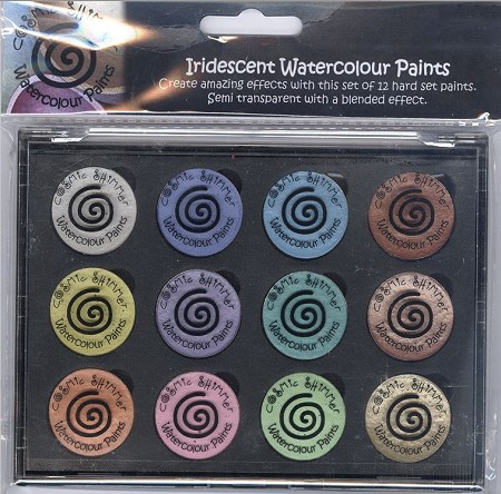 Creative Expressions - Iridescent Shimmering Watercolour Paint - Perfect Pastels Set