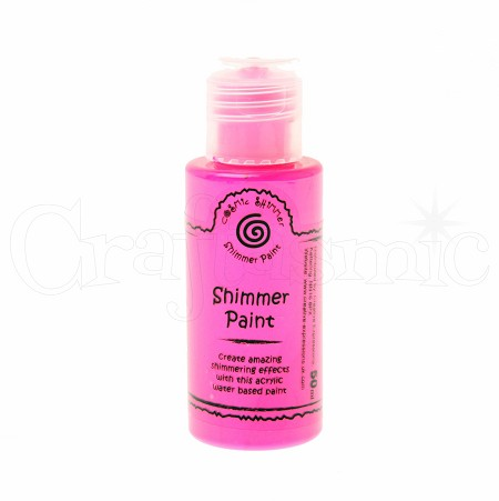 Creative Expressions - Cosmic Shimmer Paint - Rose Pink