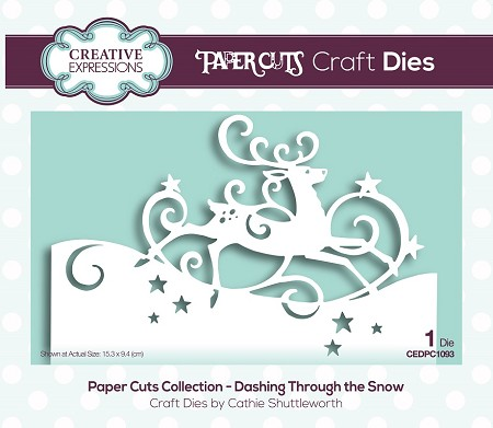 Creative Expressions - Die - Paper Cuts Collection Dashing Through the Snow