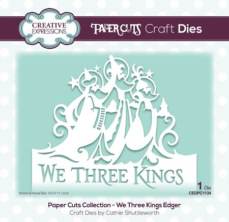 Creative Expressions - Die - Paper Cuts We Three Kings Edger