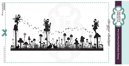 C.E. Designer Boutique - A Sprinkle Of Magic Cling Stamp