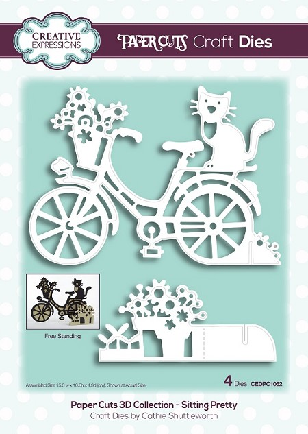 Creative Expressions - Die - Paper Cuts Collection Sitting Pretty