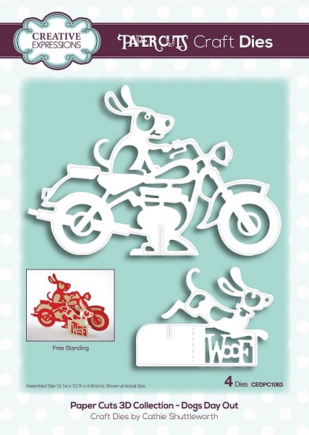 Creative Expressions - Die - Paper Cuts Collection Dog's Day Out