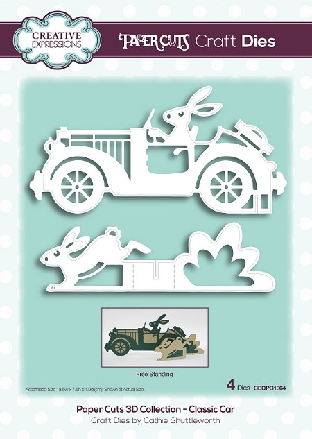 Creative Expressions - Die - Paper Cuts Collection Classic Car