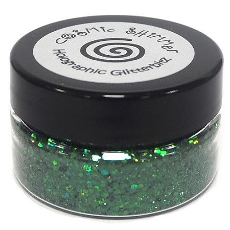 Creative Expressions - Cosmic Shimmer Holographic Glitterbitz - Emerald Shimmer