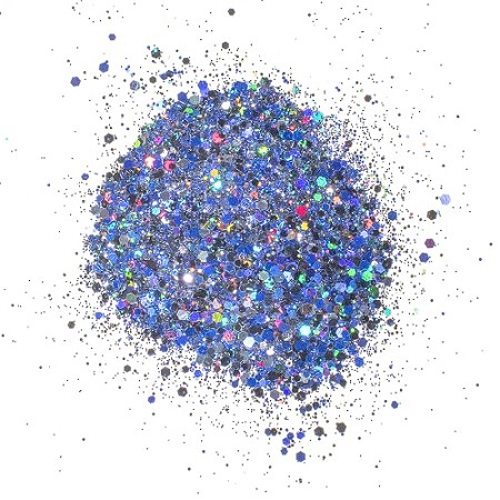 Creative Expressions - Cosmic Shimmer Holographic Glitterbitz - Midnight Marine