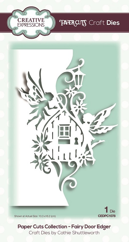 Creative Expressions - Paper Cuts Fairy Door Edger Die
