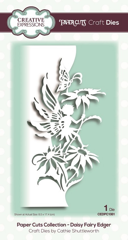 Creative Expressions - Paper Cuts Daisy Fairy Edger Die