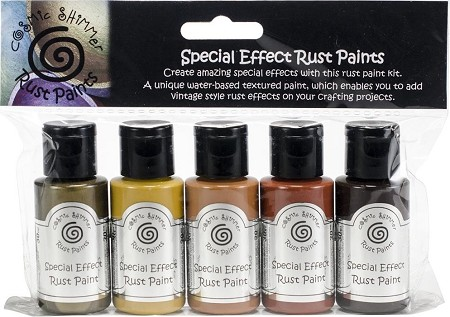 Creative Expressions - Cosmic Shimmer Special Effect Paint Kit - Rust