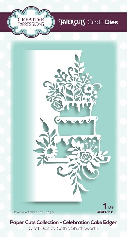 Creative Expressions - Die - Paper Cuts Celebration Cake Edger