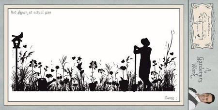 Creative Expressions - Cling Stamp - Sentimentally Yours A Gardeners Work by Phill Martin