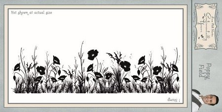 Creative Expressions - Cling Stamp - Sentimentally Yours Poppy Field Pre by Phill Martin