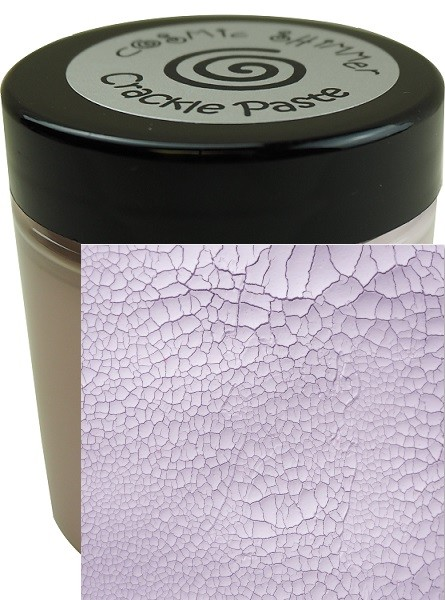 Cosmic Shimmer Crackle Paste Frosted Heather (by Phill Martin)
