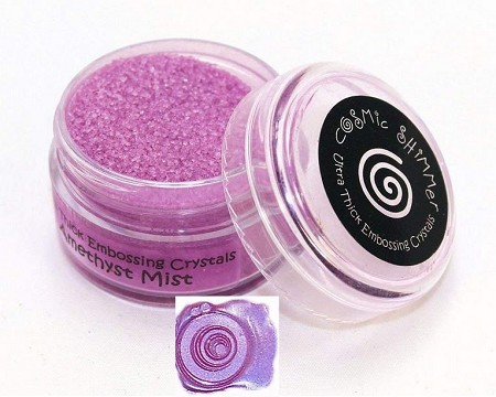 Creative Expressions - Cosmic Shimmer Embossing Crystals - Ultra Thick Amethyst Mist