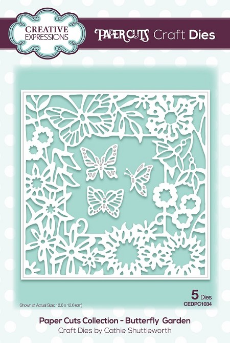 Creative Expressions - Die - Paper Cuts Collection Butterfly Garden