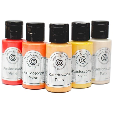 Cosmic Shimmer Kaleidoscope Paint Kit - Sunset Boulevard - by Creative Expressions