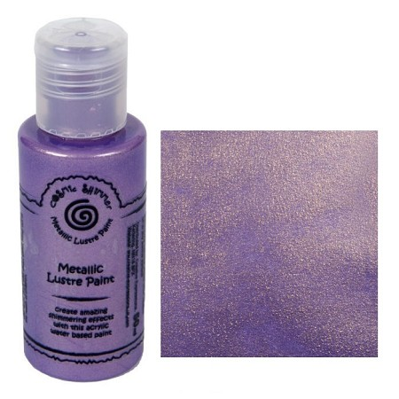 Cosmic Shimmer Metallic Lustre Paint - Golden Lilac - by Creative Expressions