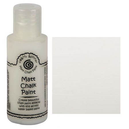 Cosmic Shimmer Matte Chalk Paint - Warm White - by Creative Expressions