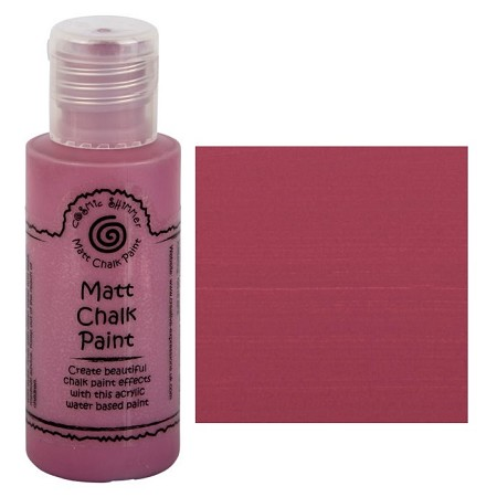 Cosmic Shimmer Matte Chalk Paint - Spiced Raspberry - by Creative Expressions