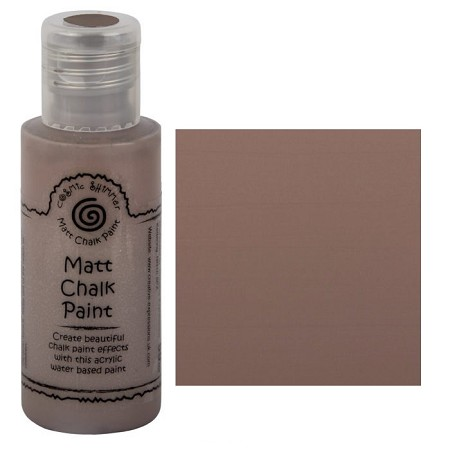 Cosmic Shimmer Matte Chalk Paint - Umber - by Creative Expressions