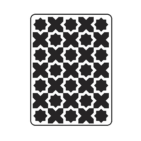 Darice Embossing Folder - (A2 Size) - Moroccan Pattern