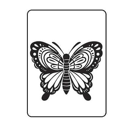 Darice Embossing Folder - (A2 Size) - Large Butterfly