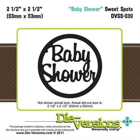 Die-Versions Die - Sweet Spots - Baby Shower