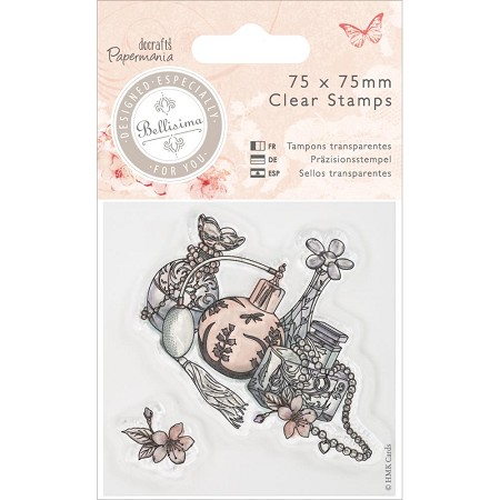 DoCrafts - Papermania Clear Stamp - Bellisima Perfume