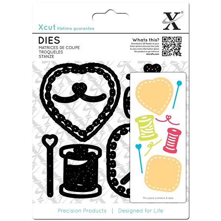 DoCrafts - Xcut Die - Sewing Patches
