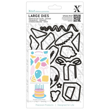 DoCrafts - Xcut Die - Large Birthday Party