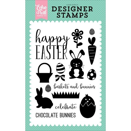 Echo Park - Easter Collection - Easter Clear Stamps