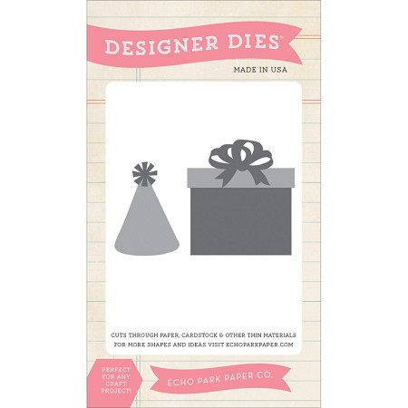 Echo Park - Designer Die - Birthday Die Set