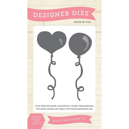 Echo Park - Designer Die - Balloon Set