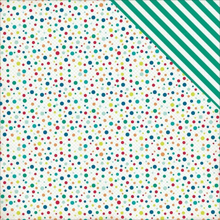Echo Park - Birthday Wishes Collection - Boy Birthday Dots