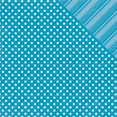 Echo Park - Dots and Stripes Collection - Summer Pool