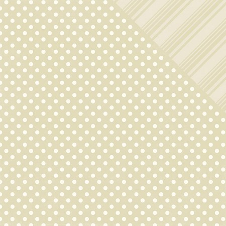 Echo Park - Dots and Stripes Collection - Neutrals Caramel