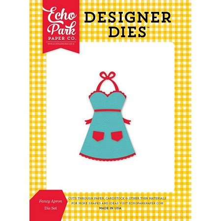 Echo Park - Designer Dies - Happiness is Homemade - Fancy Apron