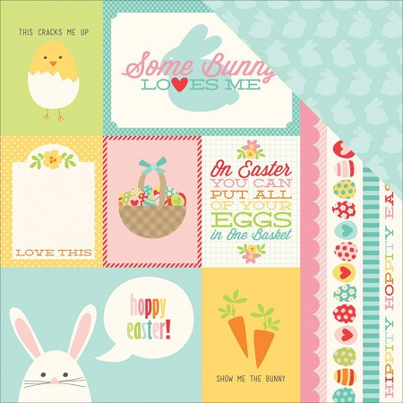 "Echo Park - Happy Easter Collection - 12""x12"" cardstock - Happy Easter"