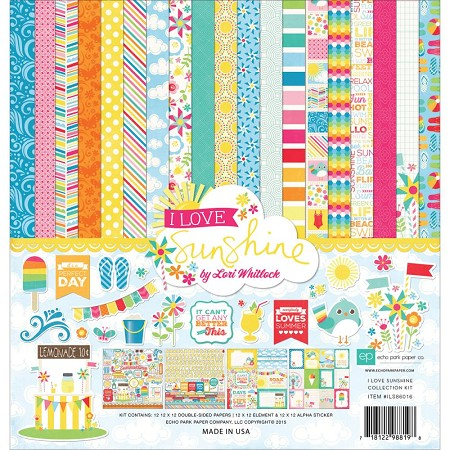 Echo Park - I Love Sunshine Collection - Collection Kit